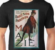 Performing Arts Posters The big fun show Dads side partner Mazie 0037 Unisex T-Shirt