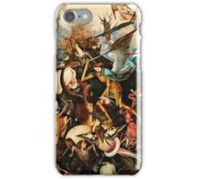 Pieter Bruegel The Elder - The Fall Of The Rebel Angels1562  iPhone Case/Skin