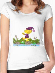Ferald Sleepwalking Women's Fitted Scoop T-Shirt
