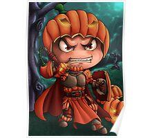 Pumpkin Paladin Poster