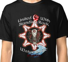 United With Standing Rock - Water is Life Classic T-Shirt