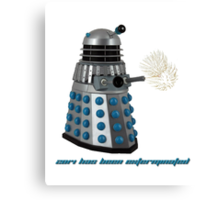 2014 has been exterminated  Canvas Print