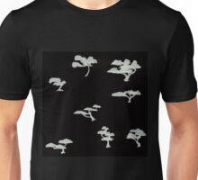 0102 - Brush and Ink - Trees 1 Unisex T-Shirt