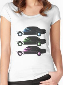 Auto-mobile x3 Women's Fitted Scoop T-Shirt