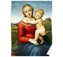 Raphael - The Small Cowper Madonna ( 1505)  Poster