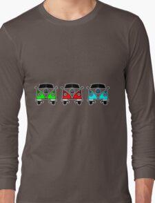 VW Camper Van Threesome Long Sleeve T-Shirt