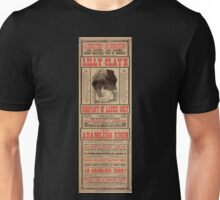Performing Arts Posters A sensation An innovation All ladies All ladies Grand inaugural tour of America of the famed European sensational attraction Lilly Clays Company 0517 Unisex T-Shirt