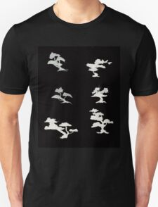 0103 - Brush and Ink - Trees 2 Unisex T-Shirt