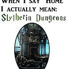 Home is Slytherin House by shego1142