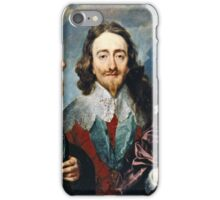 Anthony Van Dyck - Charles I  iPhone Case/Skin