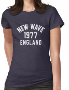 New Wave Womens Fitted T-Shirt