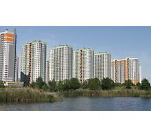 Modern highrise buildings Photographic Print
