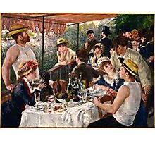 Renoir Auguste - Luncheon of the Boating Party (1880 1881)  Photographic Print