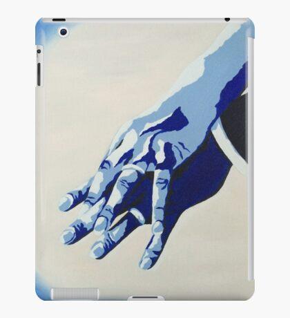 Wedding Rings - Blue iPad Case/Skin