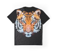 Low-poly Geometric Tiger Graphic T-Shirt