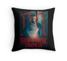 Stranger Things Movie Poster Throw Pillow
