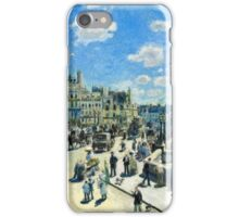 Renoir Auguste - Pont Neuf, Paris (1872)  iPhone Case/Skin
