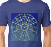 Blue moving London Eye, compass Unisex T-Shirt