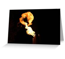 Crown casino - Melbourne fire Greeting Card