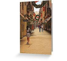 Christmas in Perth, Western Australia Greeting Card