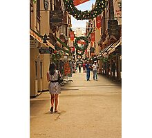 Christmas in Perth, Western Australia Photographic Print