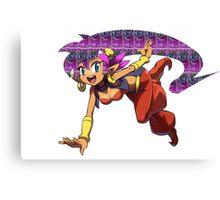 Shantae Fanta Canvas Print