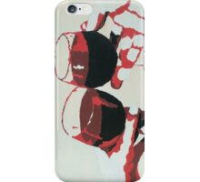 Wine Glasses - Red iPhone Case/Skin