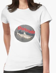 Australian Sharknado Womens Fitted T-Shirt