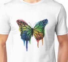 Watercolor Butterfly Unisex T-Shirt