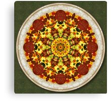 Pizzascope Canvas Print