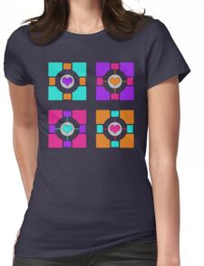 Companion Cubism Womens Fitted T-Shirt