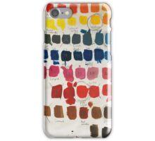 Colour testing iPhone Case/Skin