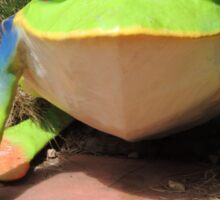 Froggy Freak Sticker
