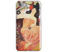 Alphonse Mucha - Job 2 iPhone Case/Skin