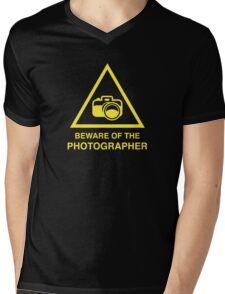 Beware Of The Photographer Mens V-Neck T-Shirt