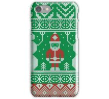 Merry Christmas and Happy New Year ornament.  iPhone Case/Skin