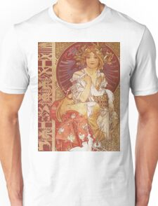 Alphonse Mucha - Guide Officiel Des Sections Autrichiennes De L Exposition Universelle De Paris Unisex T-Shirt