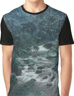 Mossman Gorge in Blue Graphic T-Shirt
