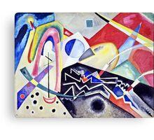 Vassily Kandinsky - White Zig Zags1922  Canvas Print