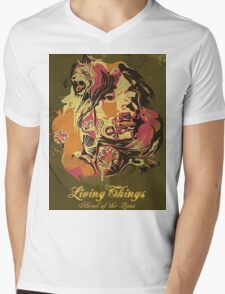 Living Things - Ahead of the Lions Mens V-Neck T-Shirt