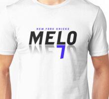melo7_black Unisex T-Shirt