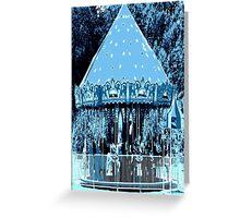 Moonlight Carousel  Greeting Card