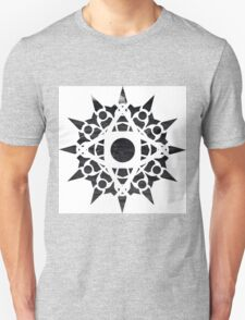 waves mandala Unisex T-Shirt