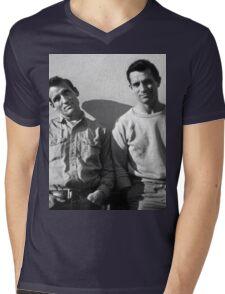 On The Road Mens V-Neck T-Shirt