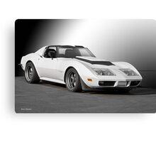 Chevrolet C3 Competition Corvette Canvas Print