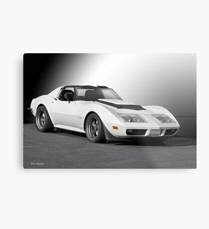 Chevrolet C3 Competition Corvette Metal Print