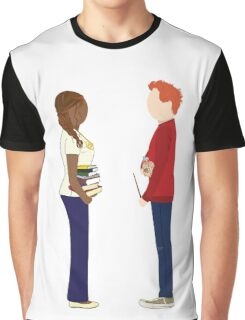 Hermione & Ron Graphic T-Shirt