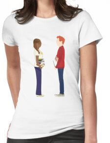 Hermione & Ron Womens Fitted T-Shirt