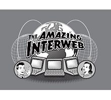 The Amazing Interweb Photographic Print