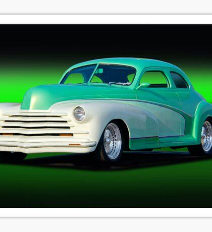 1948 Chevrolet Custom Coupe II Sticker